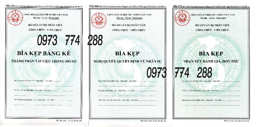 Bán bìa kẹp hồ sơ cán bộ nhân viên công chức - viên chức (Mẫu 01b-bnv/2019)3