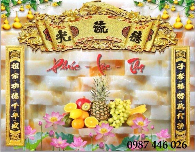 Gạch trang trí ban thờ đẹp HP51019