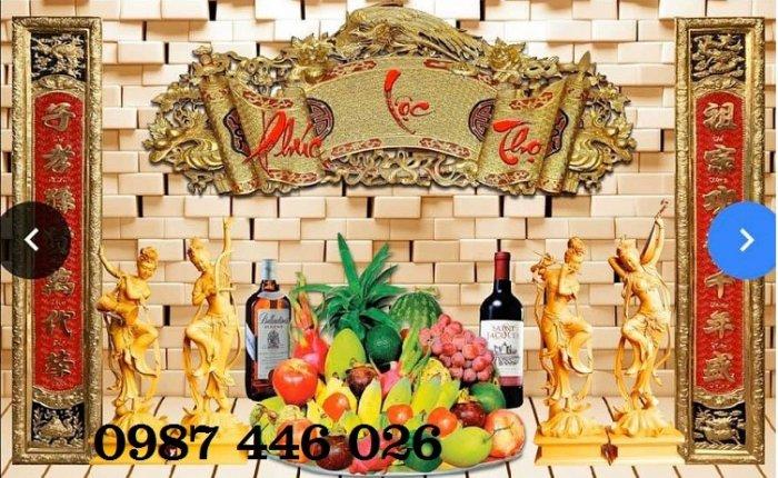 Gạch trang trí ban thờ đẹp HP51018