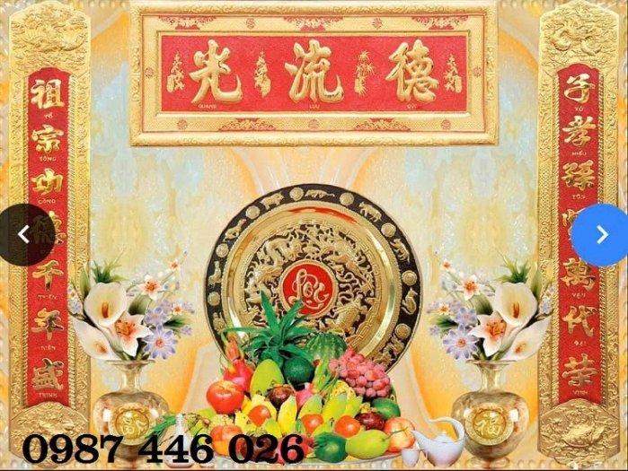 Gạch trang trí ban thờ đẹp HP51017