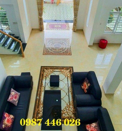 Gạch thảm sàn nhà sang trọng trang trí phòng khách HP5291024