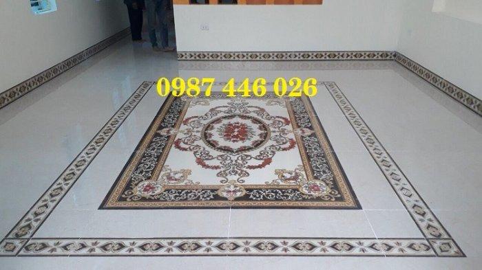 Gạch thảm sàn nhà sang trọng trang trí phòng khách HP529108