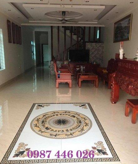 Gạch thảm sàn nhà sang trọng trang trí phòng khách HP529101