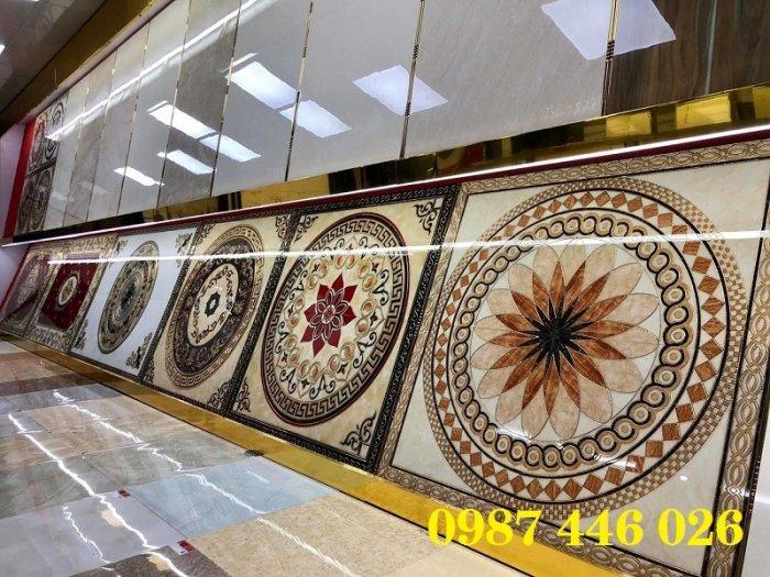 Gạch thảm trang trí nền nhà chiếu nghỉ vuông HP49110