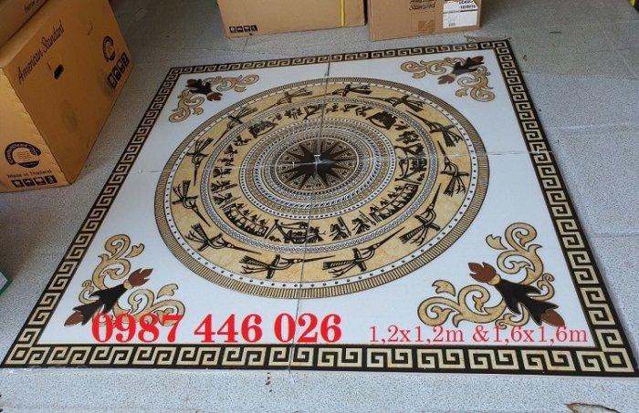 Gạch thảm trang trí nền nhà chiếu nghỉ vuông HP4917