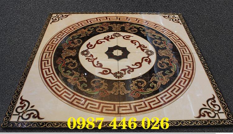 Gạch thảm trang trí nền nhà chiếu nghỉ vuông HP4914