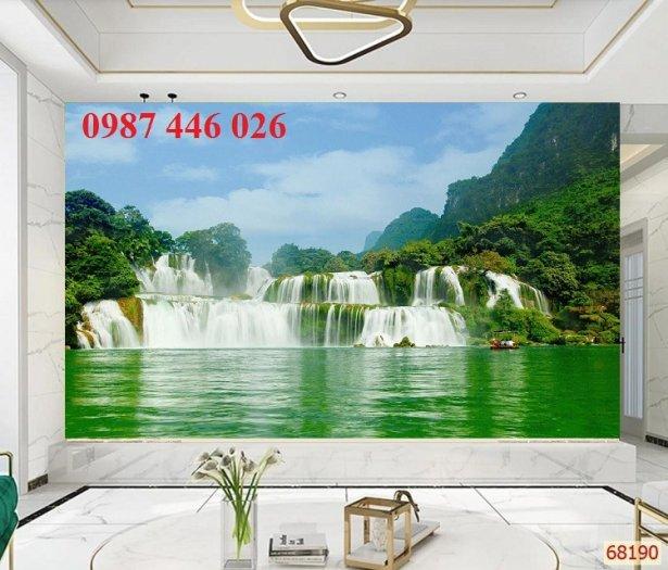 Gạch trang trí tranh tường phong cảnh 3d HP601811