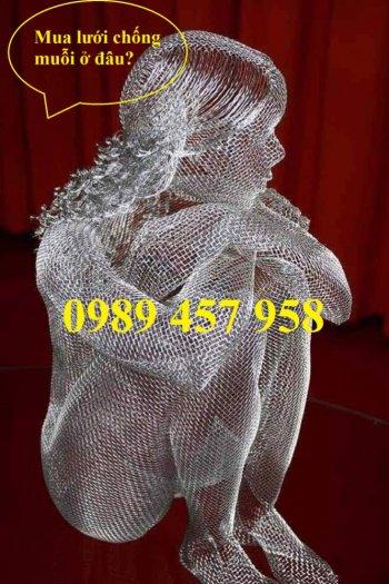 Lưới inox316 chống côn trùng, Lưới chống muỗi inox316, Lưới lọc inox3166