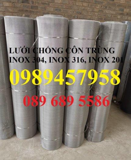 Lưới inox316 chống côn trùng, Lưới chống muỗi inox316, Lưới lọc inox3164