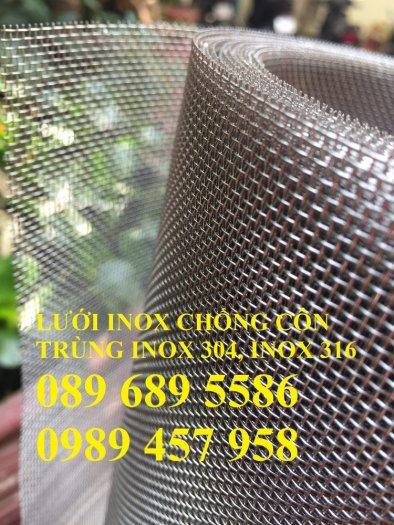 Lưới đan inox 304 dây 1ly, 1,2ly 1,5ly ô 15x15, 20x20, 30x30, 50x505