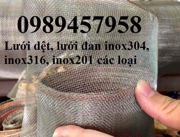 Lưới đan inox 304 dây 1ly, 1,2ly 1,5ly ô 15x15, 20x20, 30x30, 50x504