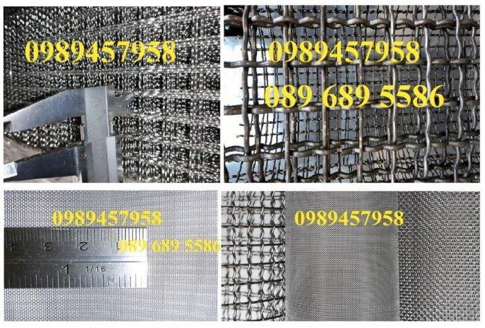 Lưới đan inox 304 dây 1ly, 1,2ly 1,5ly ô 15x15, 20x20, 30x30, 50x503
