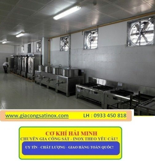 Bếp inox hầm công nghiệp Hải Minh5