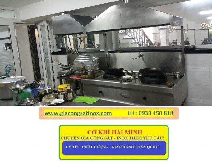 Bếp inox hầm công nghiệp Hải Minh2