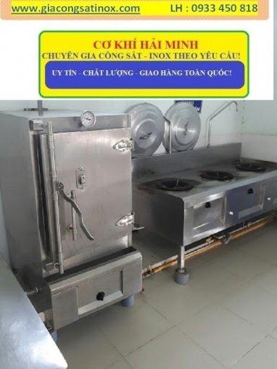 Bếp inox hầm công nghiệp Hải Minh0