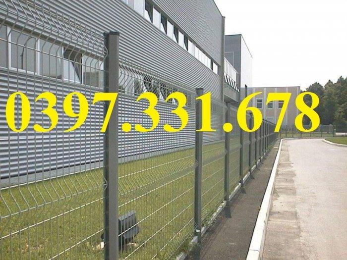 Lưới thép hàng rào, hàng rào lưới thép mạ kẽm nhúng nóng phi 5 ô 50x100, 50x150, 50x200 giá rẻ