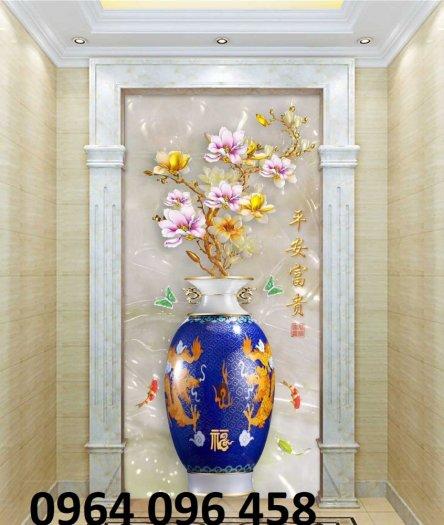 Gạch 3d tranh bình hoa giả ngọc - SNN63