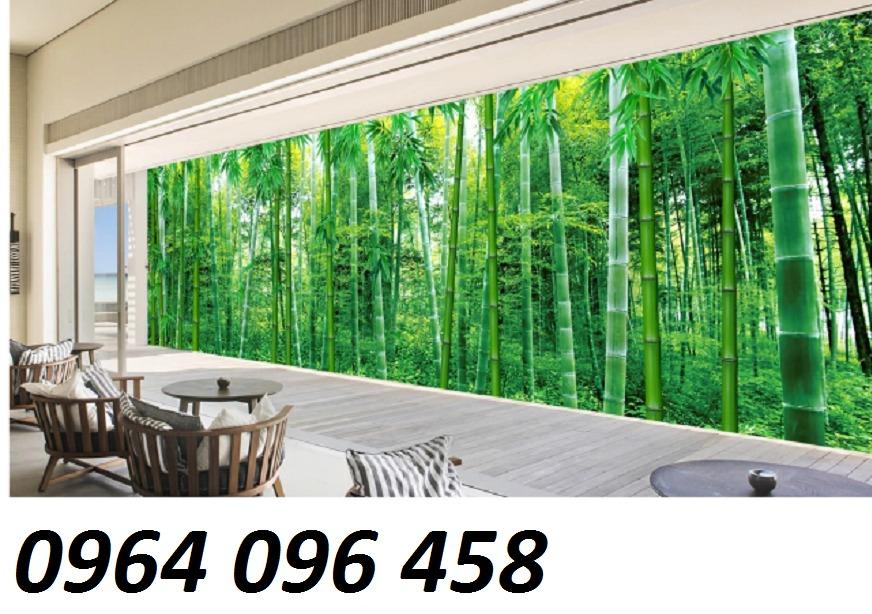 Tranh gạch men 3d rừng tre trúc - CN557