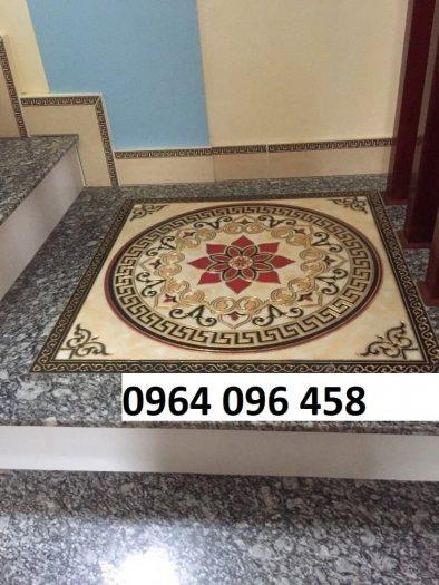 Gạch thảm 3d lát nền phòng khách - SCC46