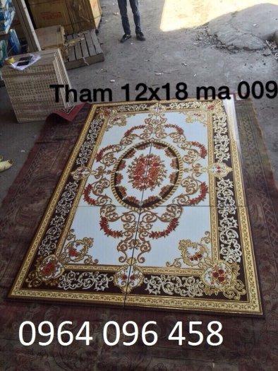 Gạch thảm 3d lát nền phòng khách - SCC43