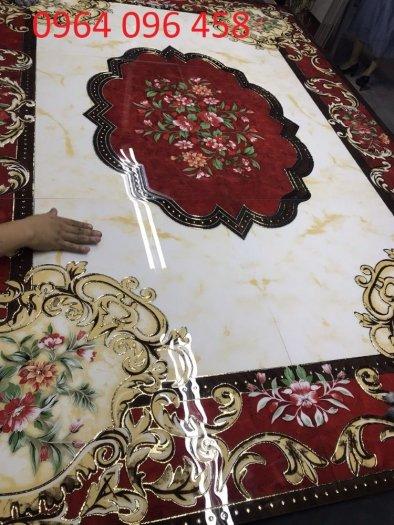 Gạch thảm 3d lát nền phòng khách - SCC41