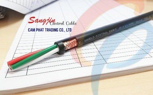 Cáp điều khiển Sangjin 6 x 1.25 SQMM có chống nhiễu2