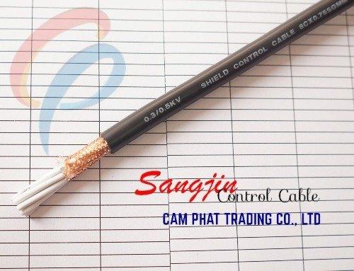 Cáp điều khiển Sangjin 6 x 1.25 SQMM có chống nhiễu1