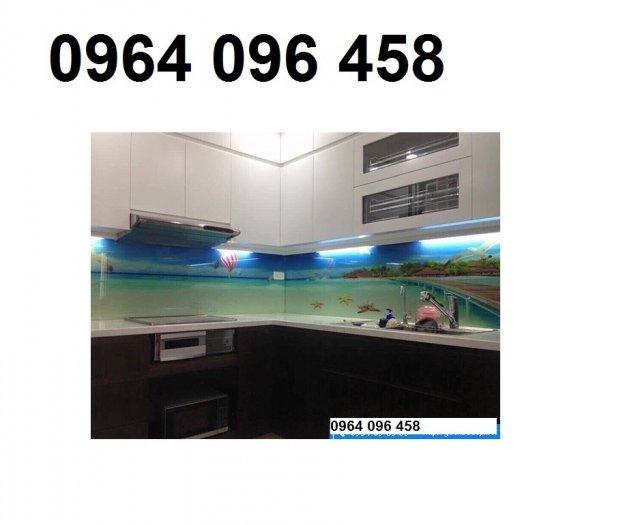 Kính ốp bếp - kính cường lực ốp bếp - VD338