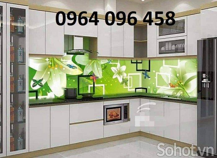 Kính ốp bếp - kính cường lực ốp bếp - VD333