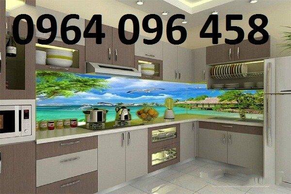 Tranh kính ốp bếp 3d - KD337