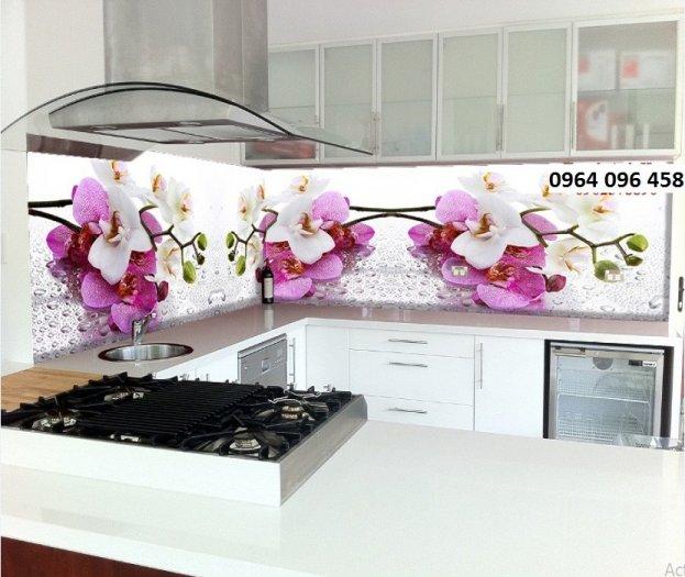 Tranh kính ốp bếp 3d - KD335