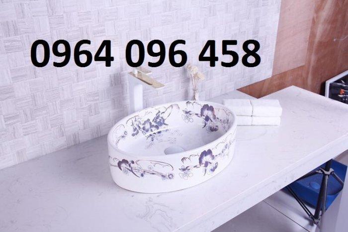 Chậu lavabo dương bàn đá cao cấp - DK667