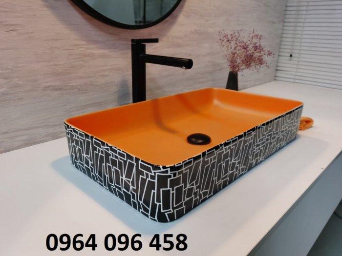 Chậu lavabo dương bàn đá cao cấp - DK662