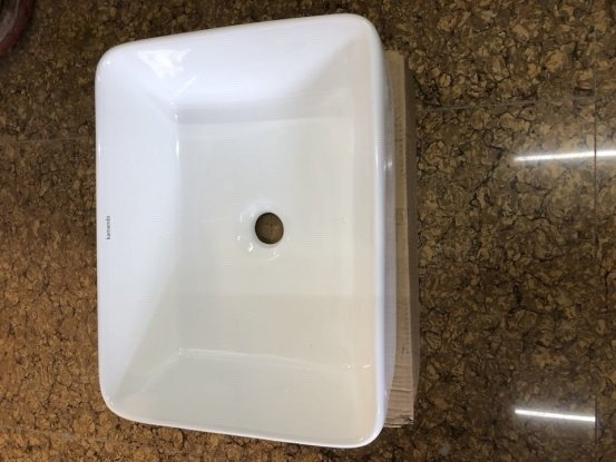 Chậu lavabo rửa mặt bàn đá - JD330