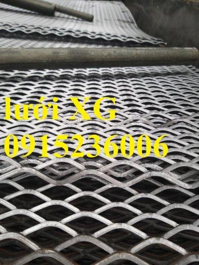 Lưới kéo dãn hình thoi, lưới mắt cáo, lưới dập dãn cán phẳng giá rẻ2