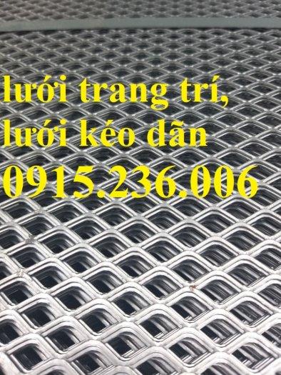 Lưới kéo dãn hình thoi, lưới mắt cáo, lưới dập dãn cán phẳng giá rẻ1