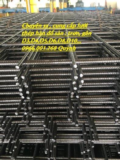 Lưới thép hàn D4 ô 100, Lưới thép hàn ô 150, Lưới thép hàn D4 ô 200 dạng tấm , dạng cuộn giá rẻ8