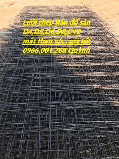 Lưới thép hàn D4 ô 100, Lưới thép hàn ô 150, Lưới thép hàn D4 ô 200 dạng tấm , dạng cuộn giá rẻ5
