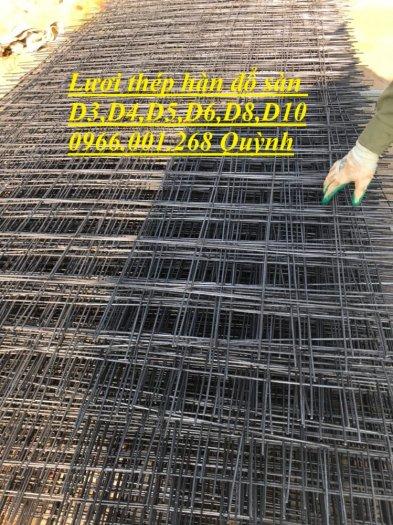 Lưới thép hàn D4 ô 100, Lưới thép hàn ô 150, Lưới thép hàn D4 ô 200 dạng tấm , dạng cuộn giá rẻ3