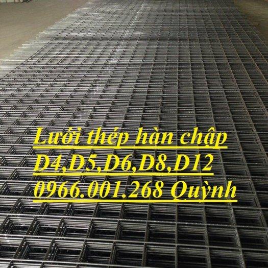 Lưới thép hàn D4 ô 100, Lưới thép hàn ô 150, Lưới thép hàn D4 ô 200 dạng tấm , dạng cuộn giá rẻ2