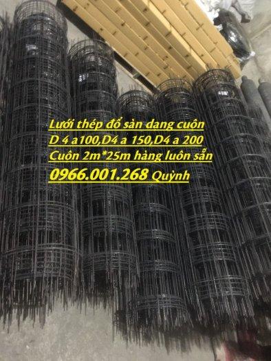 Lưới thép hàn D4 ô 100, Lưới thép hàn ô 150, Lưới thép hàn D4 ô 200 dạng tấm , dạng cuộn giá rẻ0