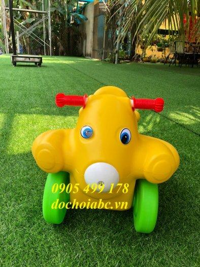 Xe chòi chân cho bé chất lượng cao - giá rẻ , uy tín đảm bảo, thiết bị mầm non5
