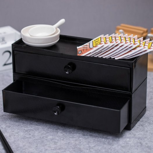 Cung cấp hộp đựng đũa muỗng nĩa bằng gỗ có ngăn kéo cho nhà hàng quán ăn0