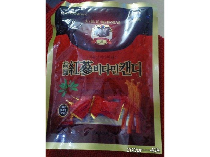Kẹo sâm Hàn Quốc0
