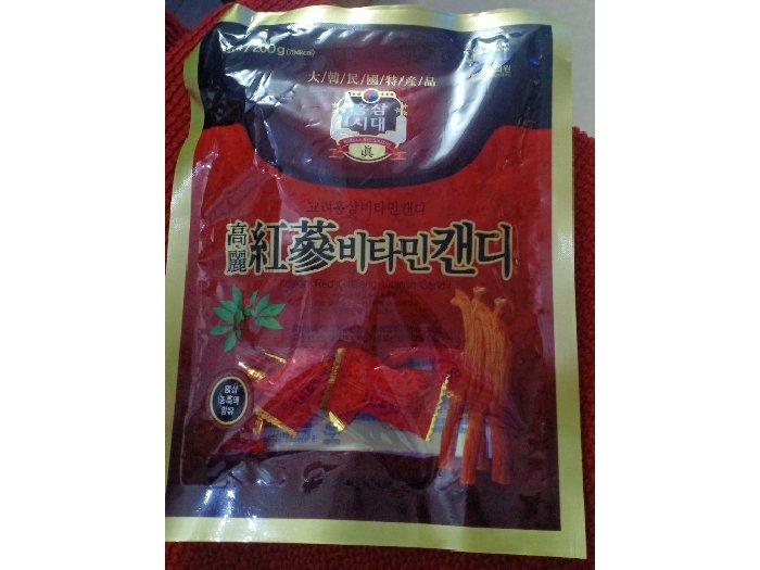 Kẹo sâm Hàn Quốc1