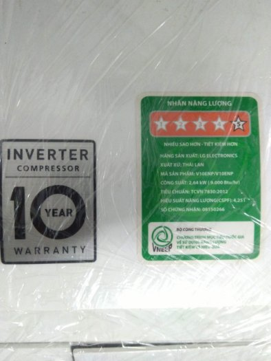 Máy Lanh LG V10ENP Inverter 1HP2