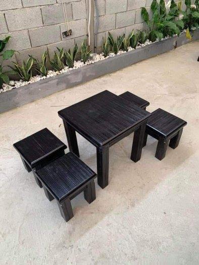 Bàn ghế gỗ cafe cóc giá rẻ nhất..1