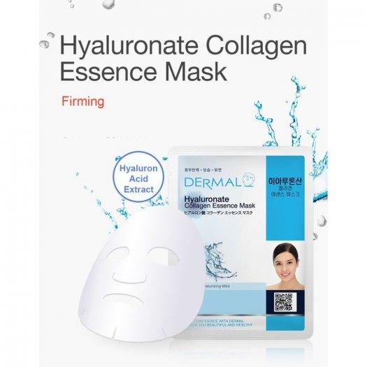 Mặt Nạ Dermal Tinh Chất Hyaluronate Dưỡng Ẩm Da Hyaluronate Collagen Essence Mask 23g - 10 Miếng3