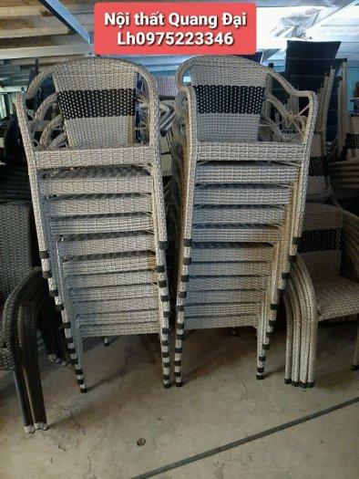 Ghế nhựa giả mây giá cả cạnh tranh tại xưởng, giá rẻ bắt ngờ.1