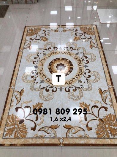 Gạch thảm sang trọng - thảm gạch phòng khách0